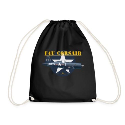 F4U-5P shirt design - Drawstring Bag