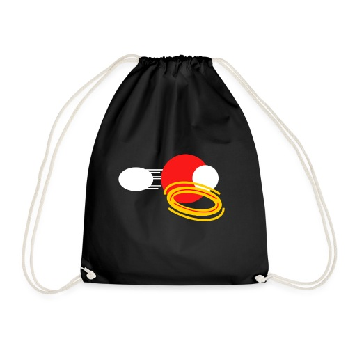 Crimson Power - Drawstring Bag