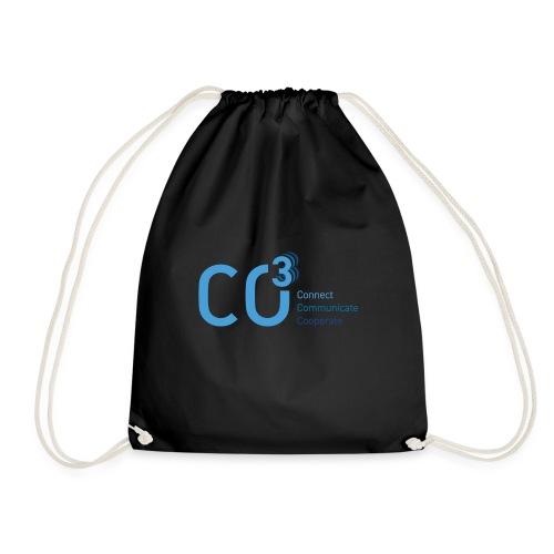 logo CO3 rgb 01 blue - Drawstring Bag