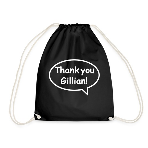 Bubble Gillian - Drawstring Bag