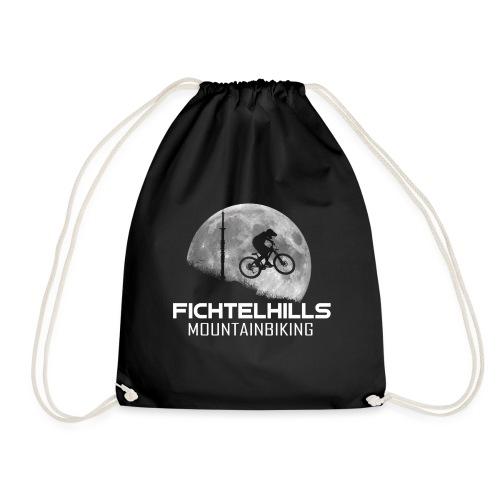 fichtelhills mountainbiking night ride fullmoon - Turnbeutel