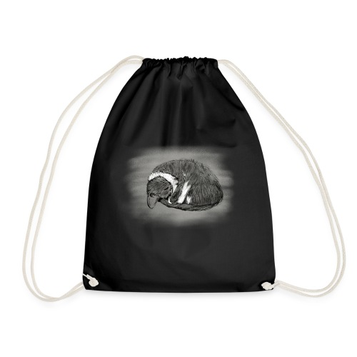Sleeping Cissi - Drawstring Bag