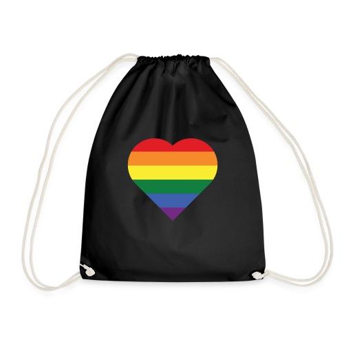 RainbowHeart - Drawstring Bag