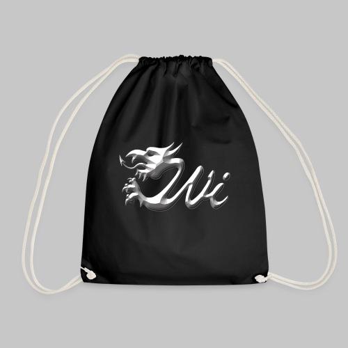 Wales Interactive Logo - Dragon Chrome - Drawstring Bag