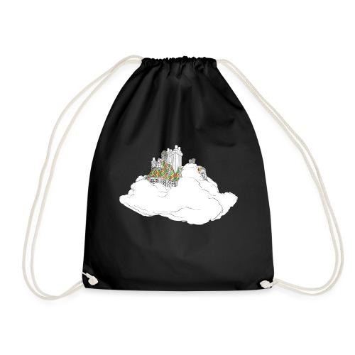 cloud house - Drawstring Bag