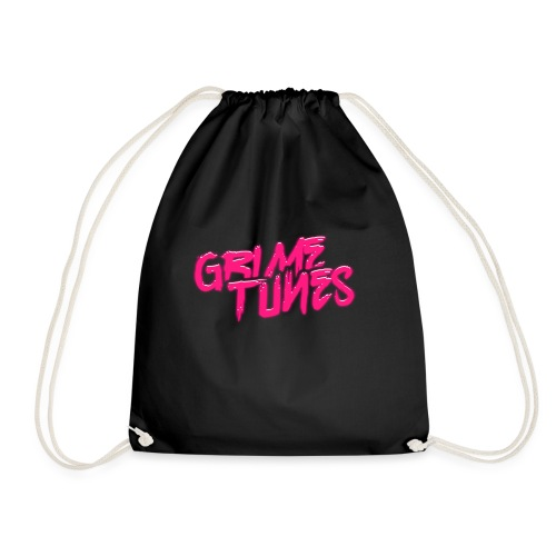Grime Tunes T-Shirt Design - Drawstring Bag