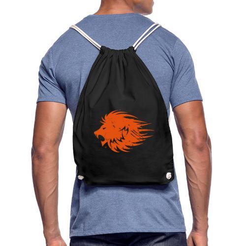 MWB Print Lion Orange - Drawstring Bag