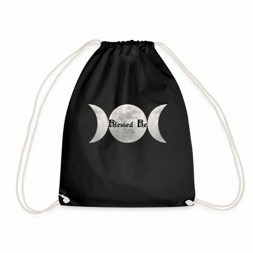 Triple Moon Blessings - Drawstring Bag