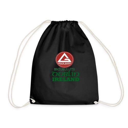 Gracie Barra Dublin Gaelic Celtic Font PNG - Drawstring Bag