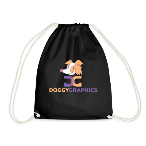Choose Product & Print Any Design - Drawstring Bag