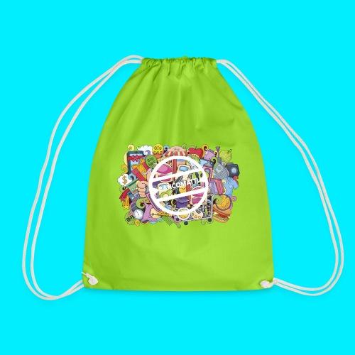 maglia logo doodle - Sacca sportiva