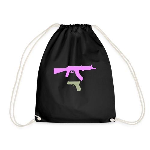 PINK GUN - Worek gimnastyczny
