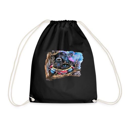 owls - Drawstring Bag