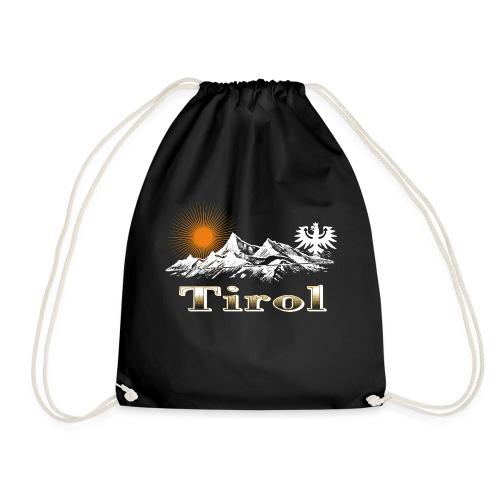 Tiroler Berge - Turnbeutel