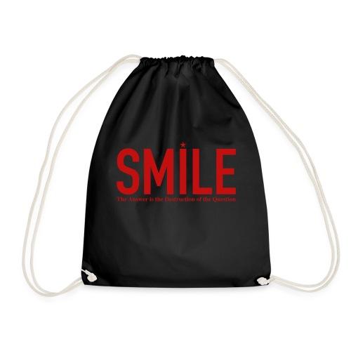 smile red star - Turnbeutel