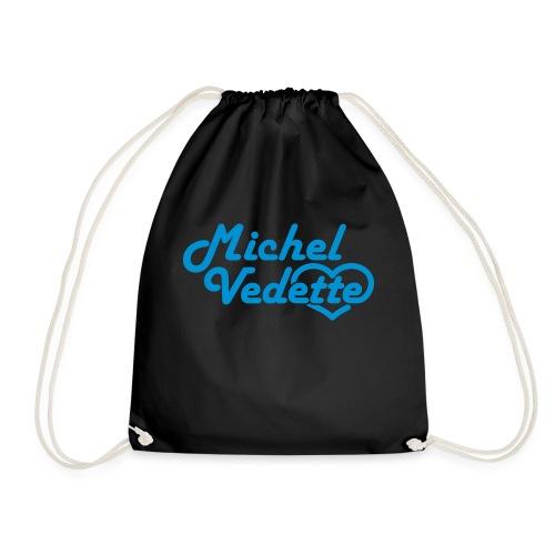 Logo Michel Vedette bleu cyan - Sac de sport léger