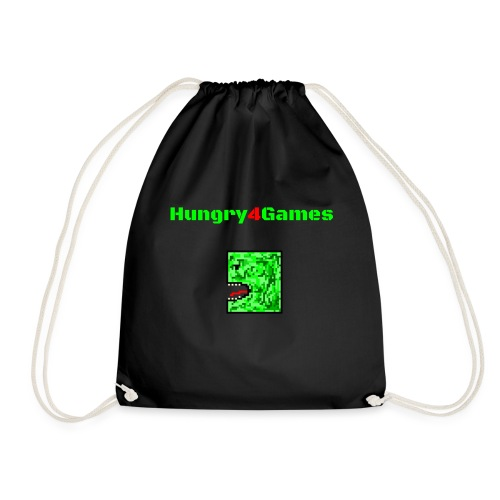 A mosquito hungry4games - Drawstring Bag