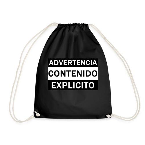 ADVERTENCIA CONTENIDO EXPLICITO - Mochila saco