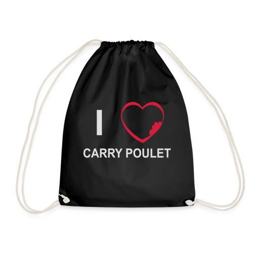 i love CARRY POULET - Sac de sport léger