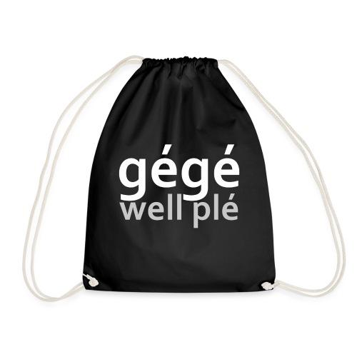 GGWP | gégé well plé - Sac de sport léger