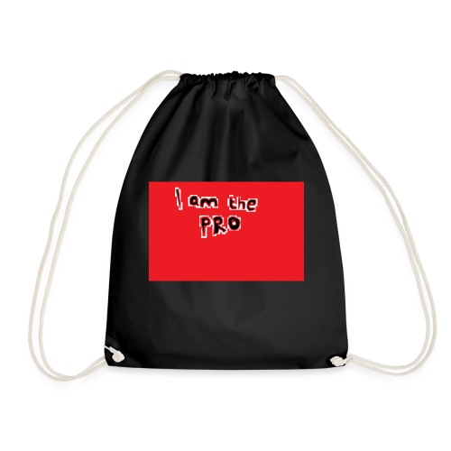 I am the pro - Drawstring Bag