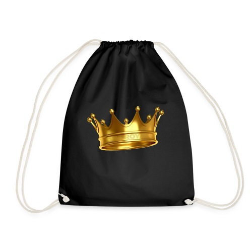 LONE ROYALS CROWN - Drawstring Bag