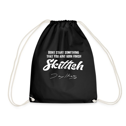 Jay Ikwan Skittish - Drawstring Bag