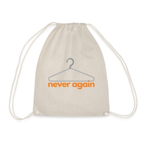 NeverAgain 1 - Turnbeutel