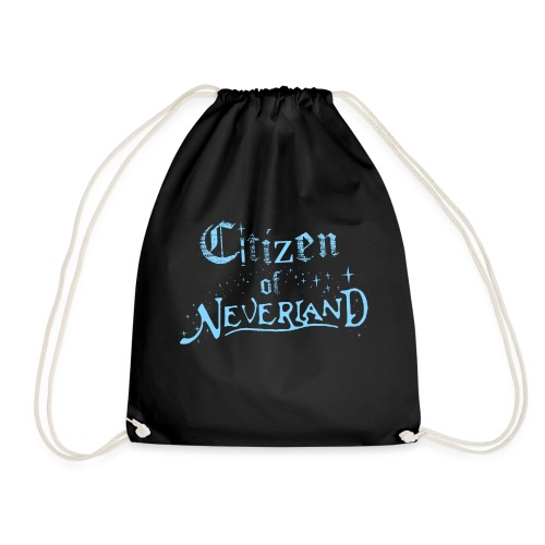 Citizen_blue 02 - Drawstring Bag