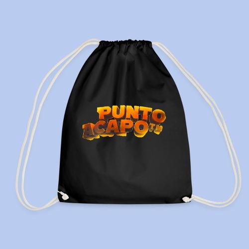 Maglietta PuntoACapo- Original Design- - Sacca sportiva