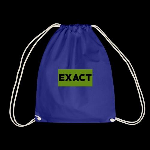 Exact Classic Green Logo - Drawstring Bag