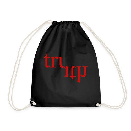 Twisted Truth Red - Drawstring Bag