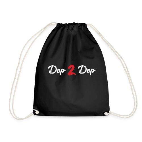 Dop 2 Dop Wit en Rood - Gymtas