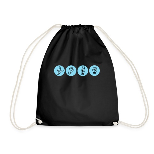 love2 - Drawstring Bag