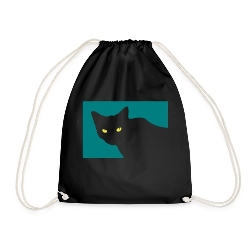 Spy Cat - Drawstring Bag