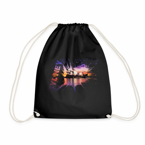 Sydney splash - Drawstring Bag