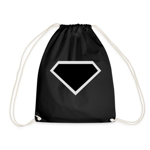 Diamond Black - Two colors customizable - Gymtas