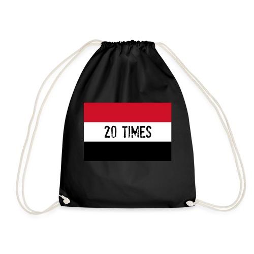 20 times - Drawstring Bag