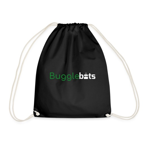 Bugglebots Black Clothing & Accessories - Drawstring Bag