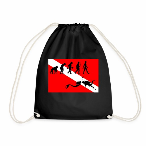 Scuba Evolution - Drawstring Bag