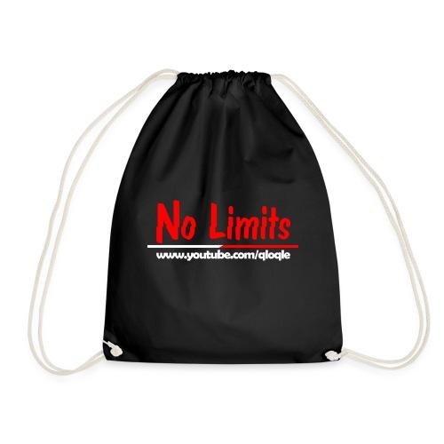 No Limits qloqle Logo - Turnbeutel