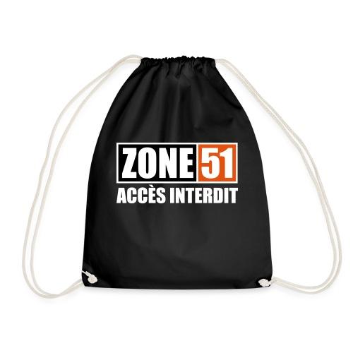 ZONE 51 - ACCES INTERDIT - Sac de sport léger