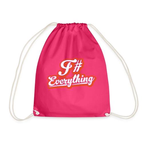 F# Everything - Drawstring Bag