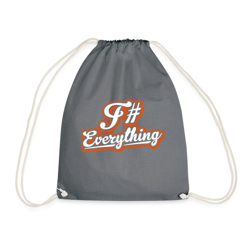 F# Everything - Drawstring Bag