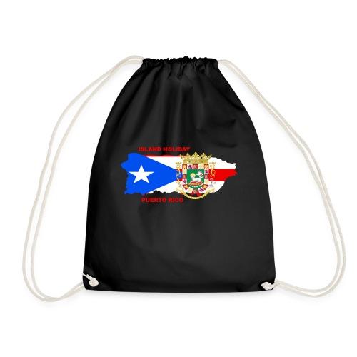 Puerto Rico Island Holiday - Turnbeutel