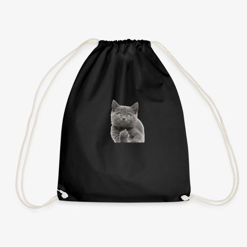 Gato dedo gatos cats - Mochila saco