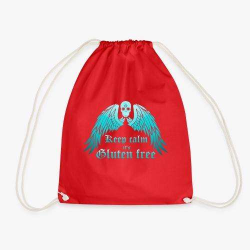 Keep calm it's Gluten free - Drawstring Bag