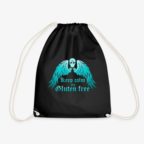 Keep calm it's Gluten free - Drawstring Bag