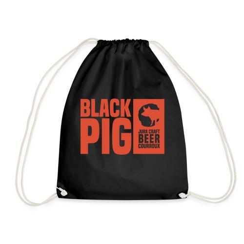 BlackPig Horizontal Orange - Sac de sport léger