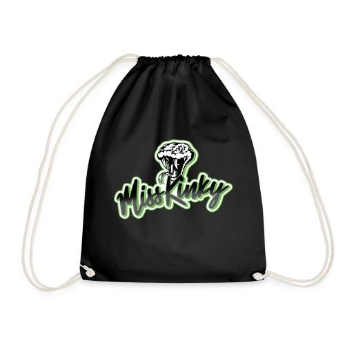 Logo Miss Kinky vert - Sac de sport léger
